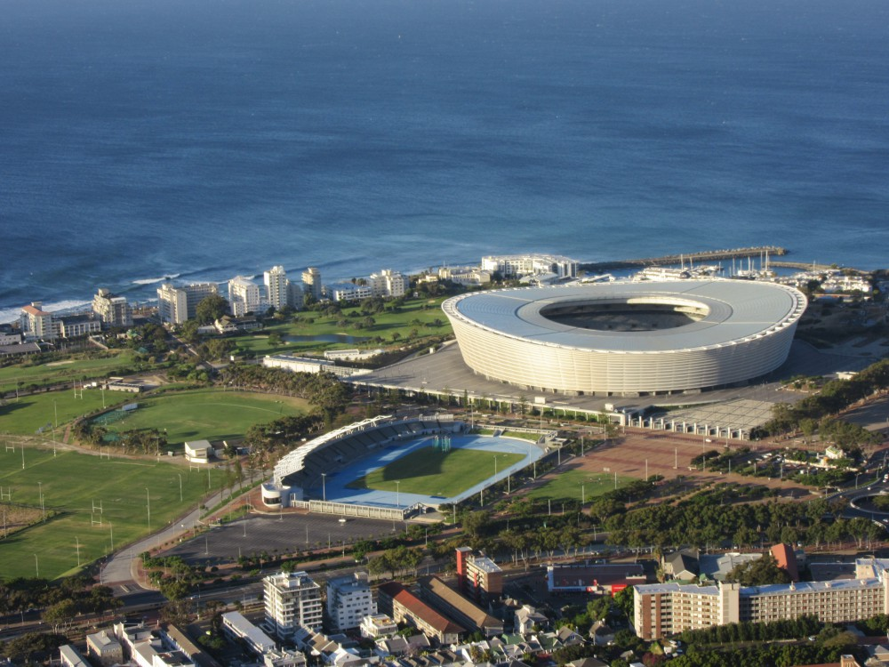 WM Stadion Kapstadt Südafrika