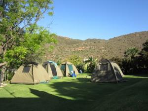 Best of Namibia Tour Campsite Marcuskraal
