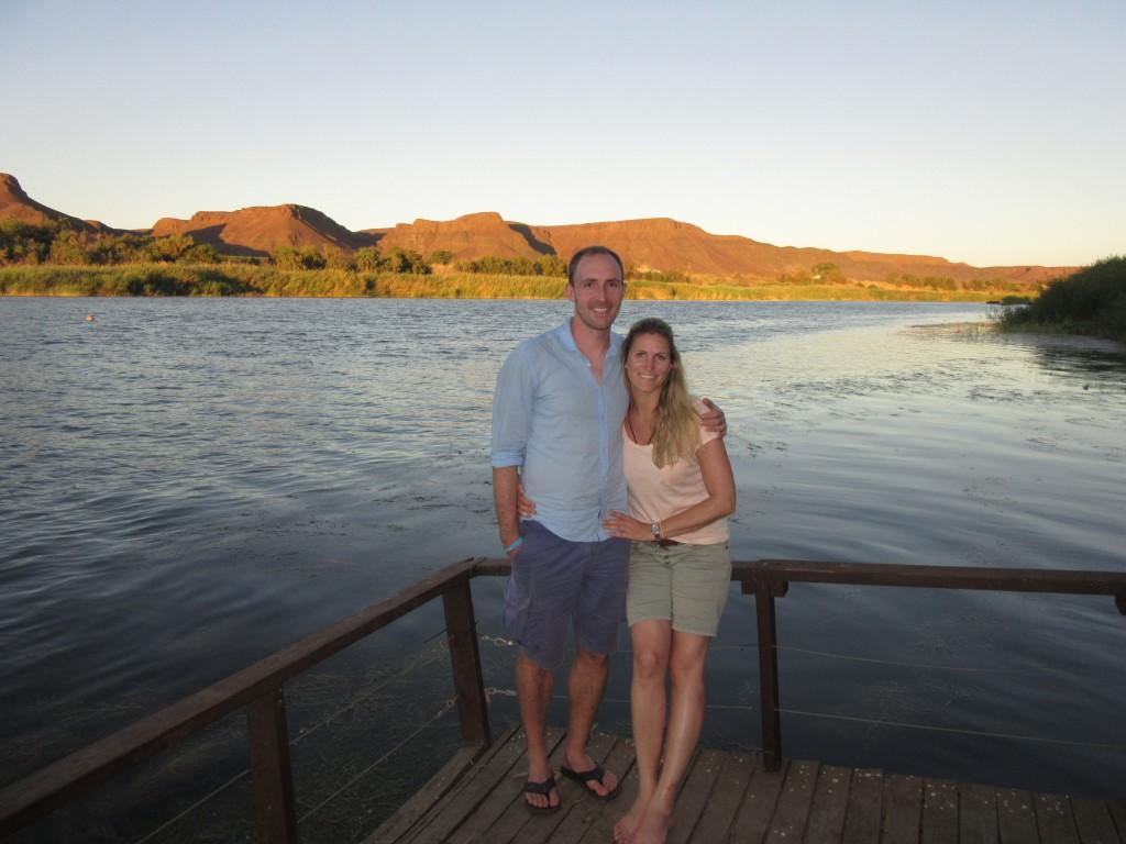 Nomad Safari Tour Tag 2 - Orange River