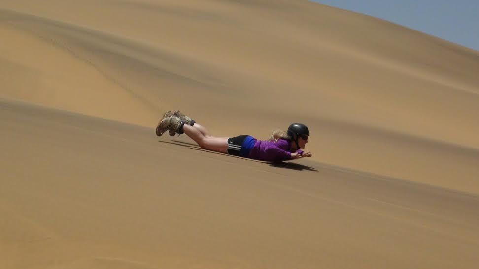 Geli Sandboarding 2