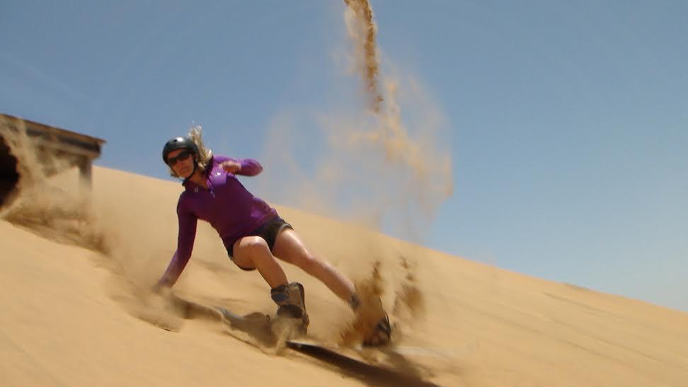 Geli Sandboarding Namibia