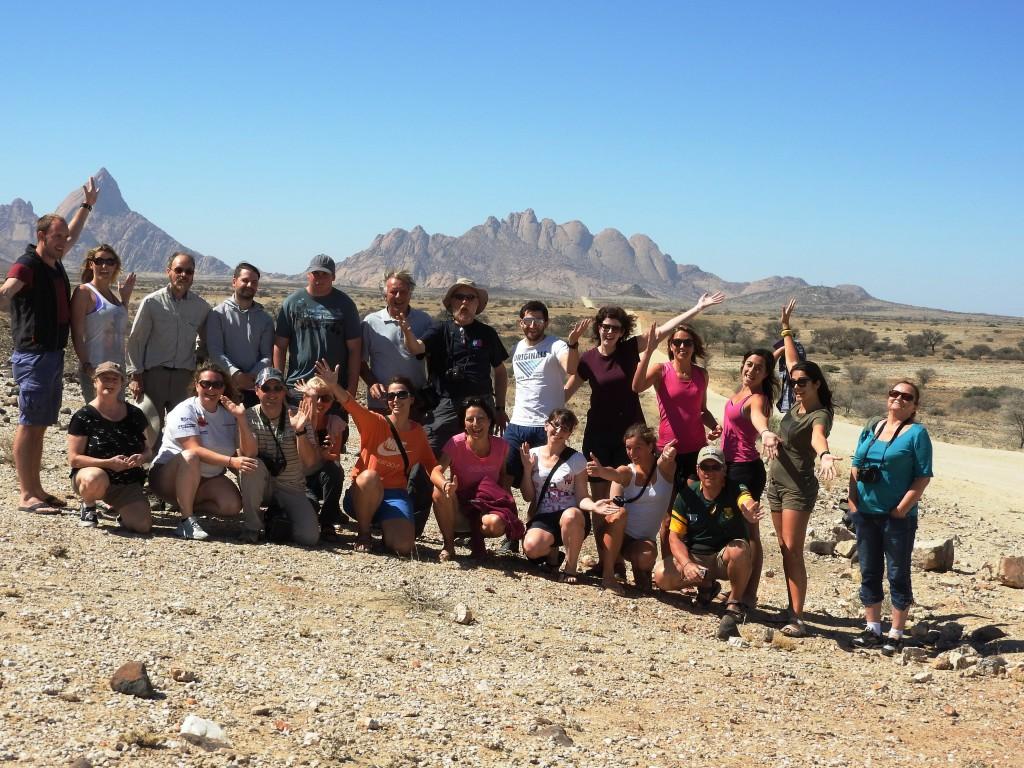 Gruppen Foto Namibia Camping Safari Nomads