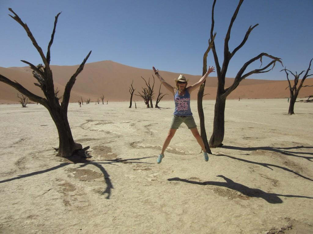 Tote Senke in Namibia
