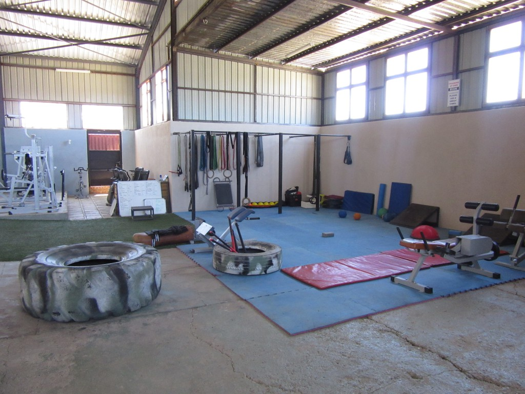 Besuch im Fitness Gym bei Terry in Windhoek