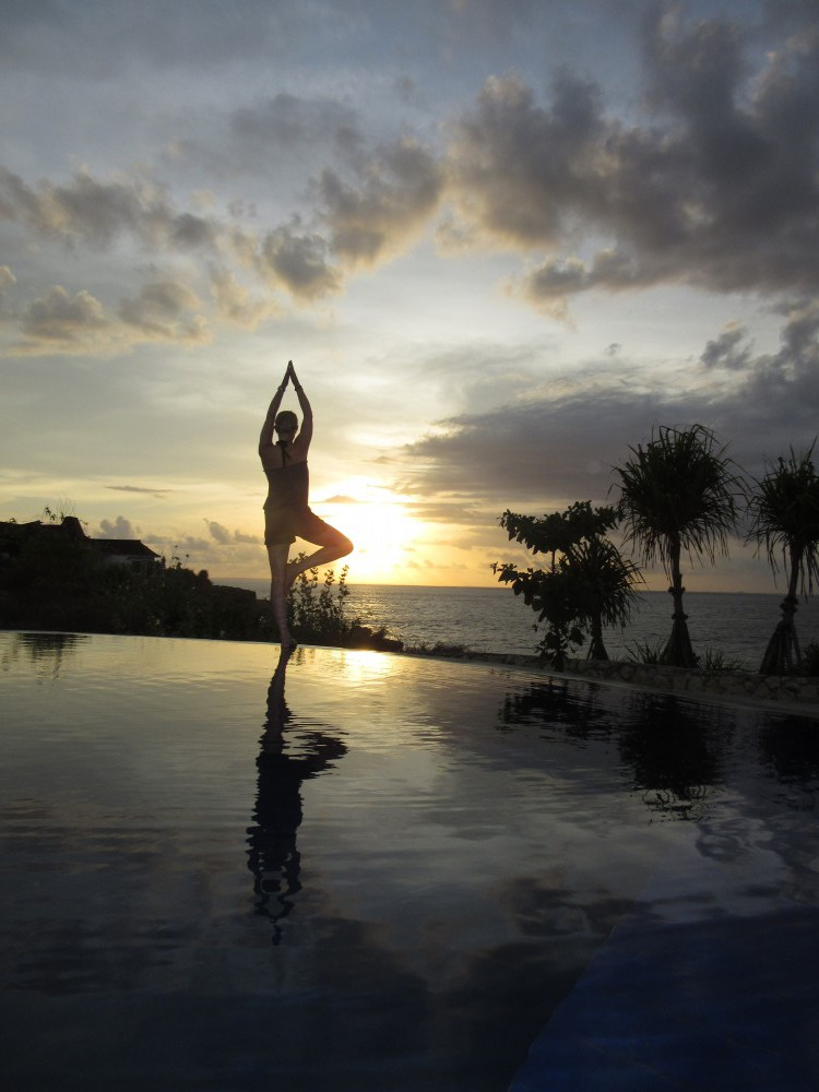 Fitness-auf-Bali