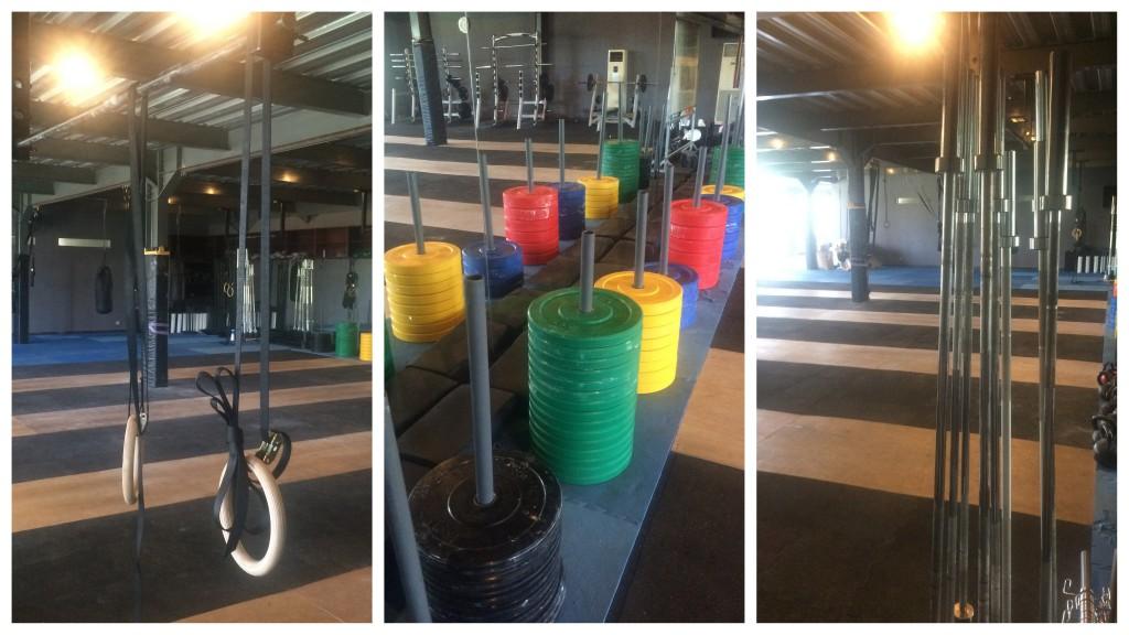 Hat alles was man für ein Workout braucht! Das S2S in Jimbaran.