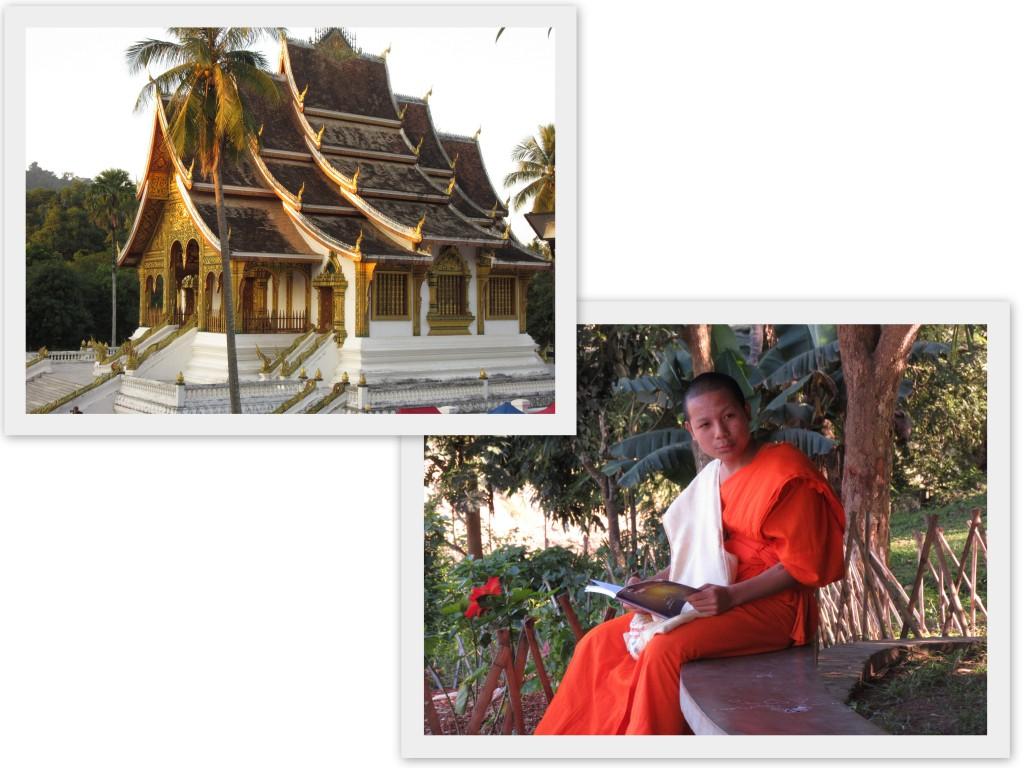 Monk-Laos-Tempel