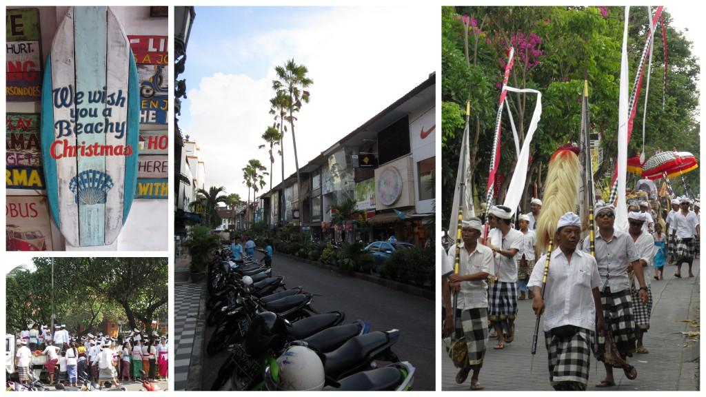 Straßen-von-Kuta-auf-Bali
