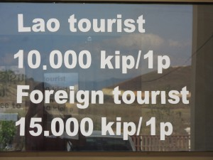 foreigner and local prices