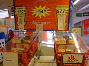 Shopping Prices Mexico