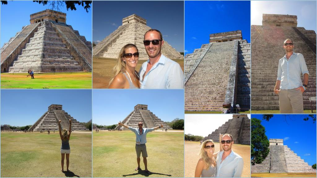 Chichen Itza Stufenpyramide