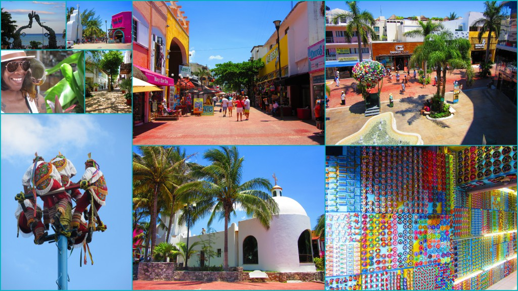 Streets of Playa del Carmen