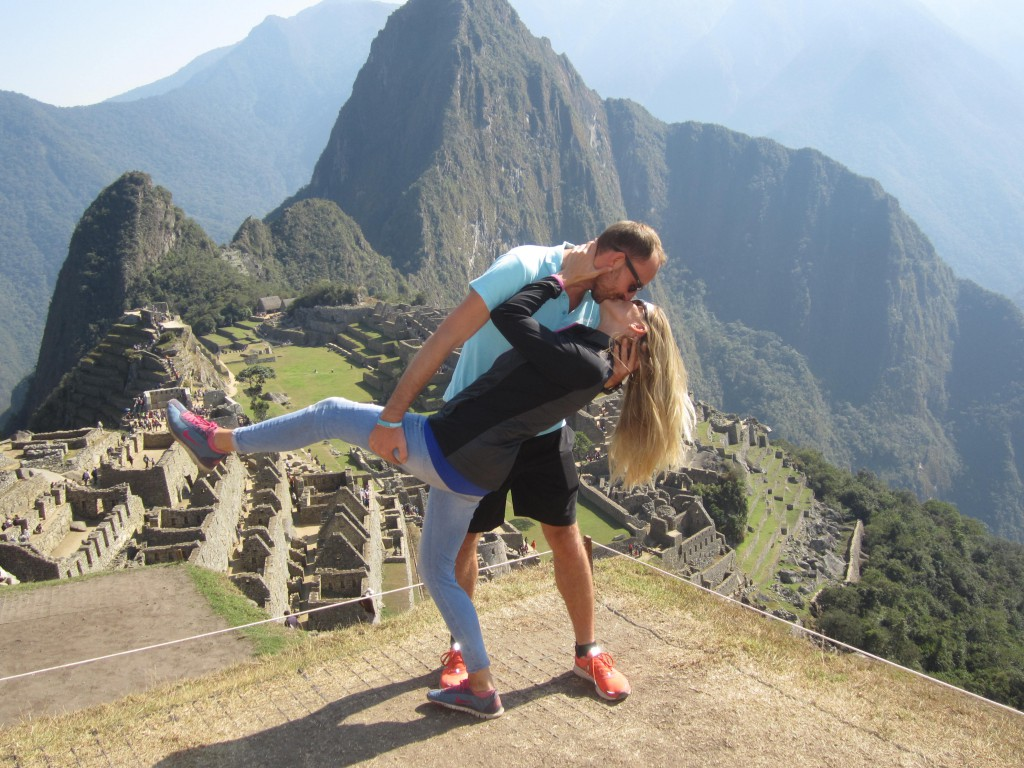 Hollywood Kiss on Machu Picchu